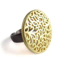 "Bague ""Lune d'or"""