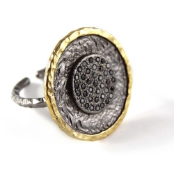 """Ring """"Lune d'or"""""""
