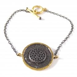 """Bracelet """"Nuit des temps"""""""