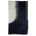 Chèches Chic en coton sable et noir d'encre