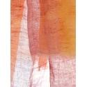Ikat bicolore pêche abricot
