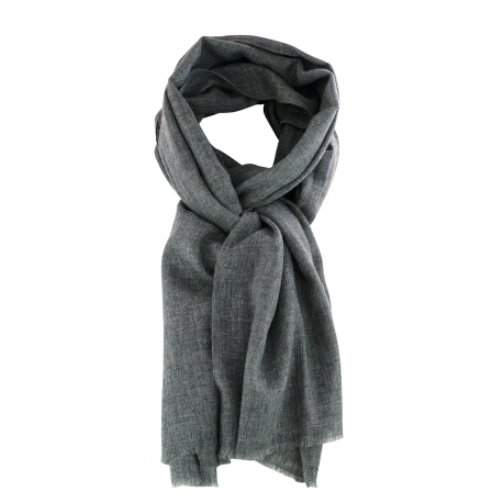 Pashmina 100% Cachmere Anthracite