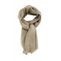 Pashmina 100% Cachmere Taupe chiné