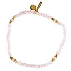 """Bracelet Or 3 µ """"Uma"""" Aqua Chalcy"""