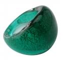 """Glassy"" ring Mint spangled"