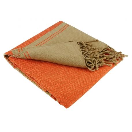 "Fouta ""Sand"", Mandarine"