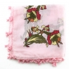 """Scarf """"Oya"""" Cotton & Lace old - N°59"""
