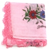 """Scarf """"Oya"""" Cotton & Lace old - N°61"""