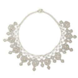 "Collier ""Sonya"" Gris nuage"