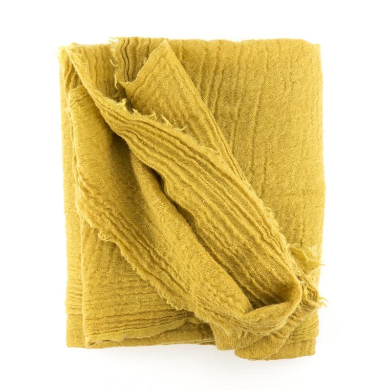 scarf 100 wool 10 silk saffron