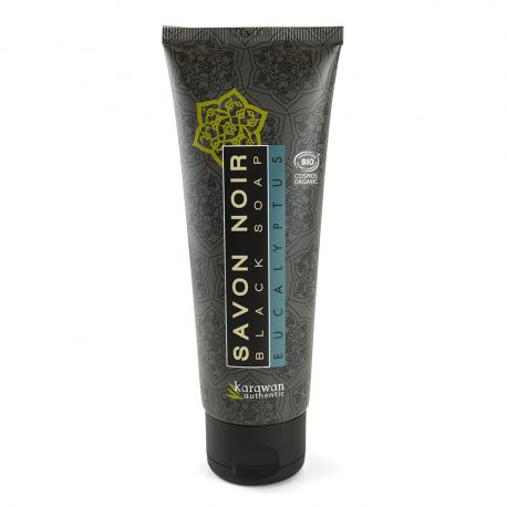 Tube de savon noir biologique** Eucalyptus