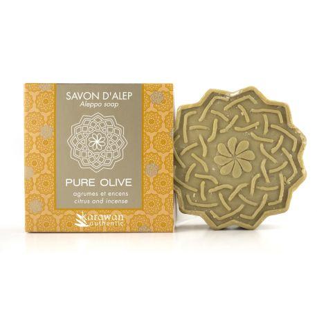 Savon d'Alep parfumé Agrumes & Encens