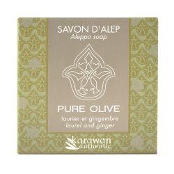 Savon d'Alep parfumé Laurier & Gingembre