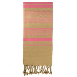 "Fouta ""Sand"", Rose Indien"