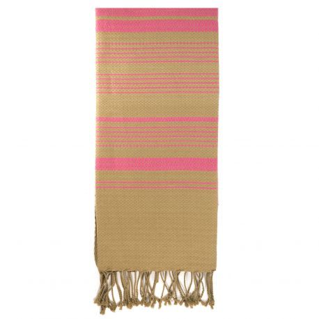 """Fouta """"Sand"""", Rose Indien"""