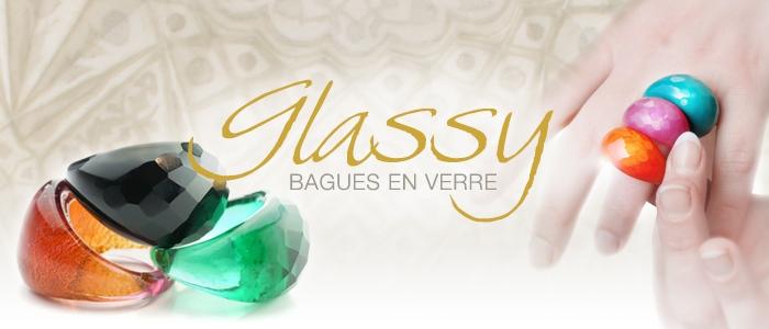 Bagues Glassy