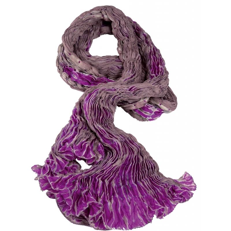 Foulard en Soie Tie   dye Karawan authentic 7e8168980e4