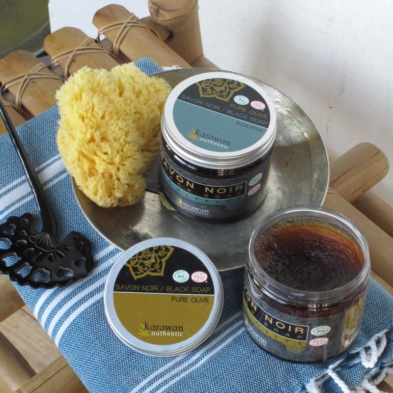 Savon noir pure olive biologique 200g karawan authentic - Savon noir briochin avis ...