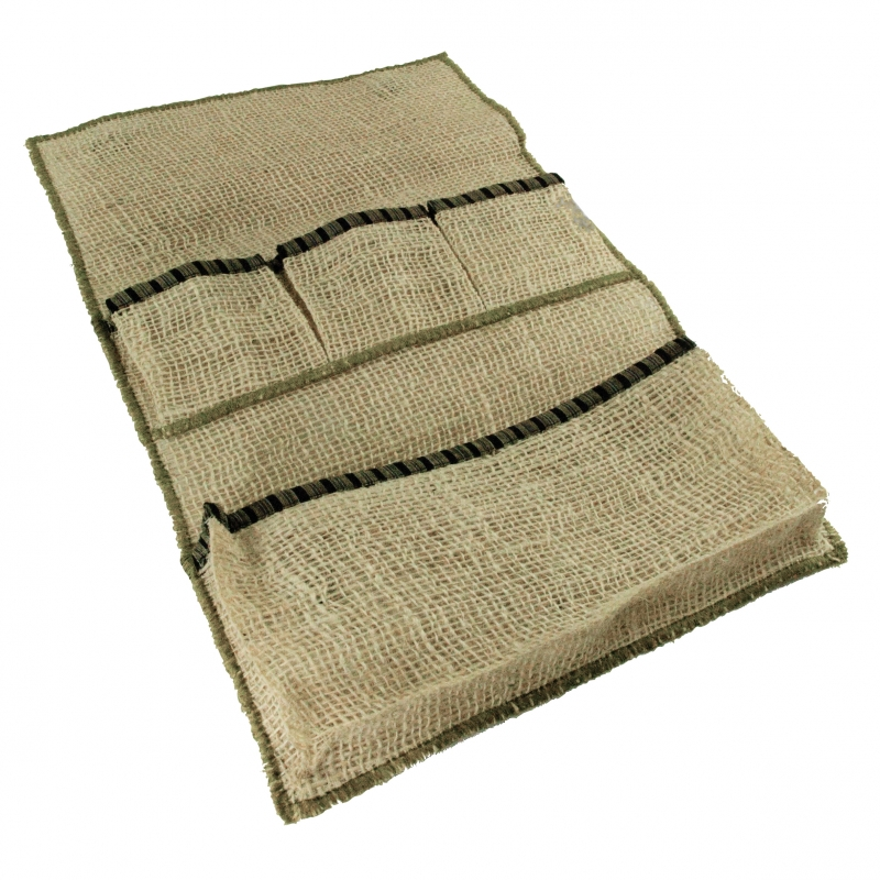 pochette hammam en toile de jute. Black Bedroom Furniture Sets. Home Design Ideas